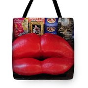 Lips Couch Tote Bag
