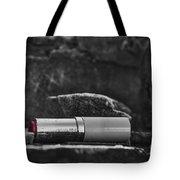 Lipstick - Bw  Tote Bag