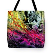 Liquid Decalcomaniac Desires 1 Tote Bag