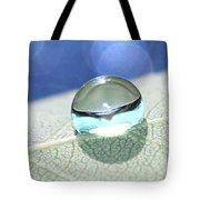 Liquid Drop Tote Bag