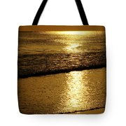 Liquid Gold Tote Bag