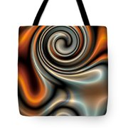 Liquid Mercury And Rust 2 Tote Bag