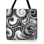 Liquid Metal Tote Bag