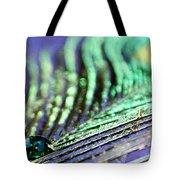 Liquid Peacock Tote Bag