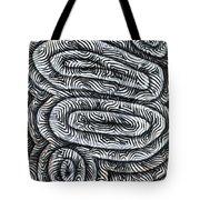 Liquid Waves Tote Bag