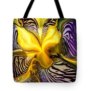 Liquified Orchid Tote Bag