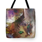 Lisa Beckons - Square Version Tote Bag