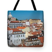 Lisbon Alfama District Tote Bag