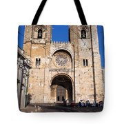 Lisbon Cathedral In Portugal Tote Bag
