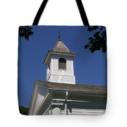 Listen For The Bell Tote Bag