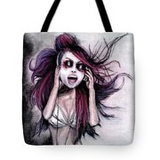 Listen To Music Tote Bag