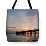 Listen To The Waves Tote Bag