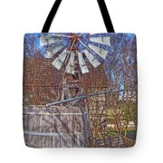 Listen To The Wind Tote Bag