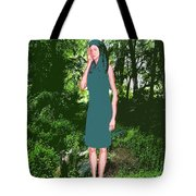 Listening To The Silence 3 Tote Bag