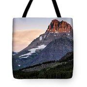 Lit Peaks Tote Bag