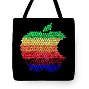 Lite Brite Macintosh Tote Bag