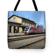 Lithuania. Silute Train Station. 2009 Tote Bag