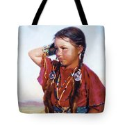 Little American Beauty II Tote Bag