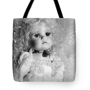 Little Angel In Black And White Tote Bag