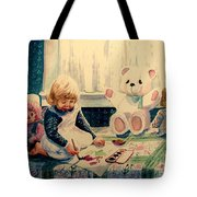 Little Artist Tote Bag