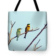 Little Bee-eaters Tote Bag