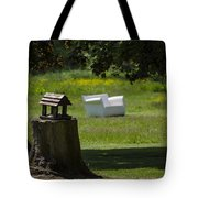 Little Bird House Tote Bag