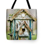 Little Birdhouse Tote Bag