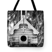 Little Birdie Church Tote Bag