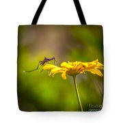 Little Biter Tote Bag by Marvin Spates