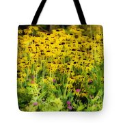 Little Bits Of Yellow Tote Bag