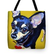 Little Bitty Chihuahua Tote Bag