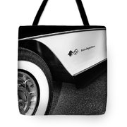 Little Black Corvette Palm Springs Tote Bag