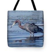 Little Blue Heron Egretta Caerulea Tote Bag