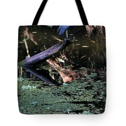 Little Blue Times Two Tote Bag