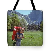 Mp-441-little Boy Big Pack  Tote Bag