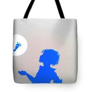 Little Boy Blue Has Lost His Shoe Tote Bag