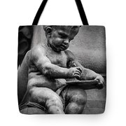 Little Boy Made Of Stone Tote Bag