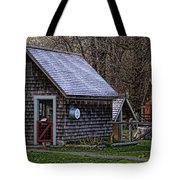 Little Cedar Shake Building Tote Bag