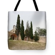 Little Chapel On A Hill Tote Bag
