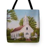 Little Chapel Tote Bag