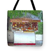 Little Cigar Shop Key West Tote Bag