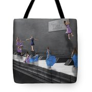 Little Composers I Tote Bag by Betsy Knapp