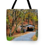 Little Covered Bridge Tote Bag