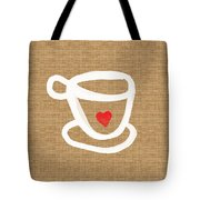 Little Cup Of Love Tote Bag