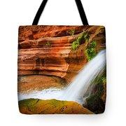 Little Deer Creek Fall Tote Bag by Inge Johnsson