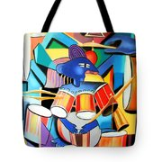 Little Drummer Boy Tote Bag