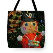 Little Drummer Boy Ornament Tote Bag