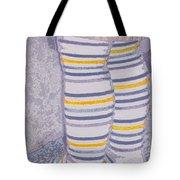 Little Feet-yellow Tote Bag
