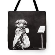 Little Fiddler Tote Bag by Aged Pixel