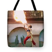 Little Fire Goddess Tote Bag